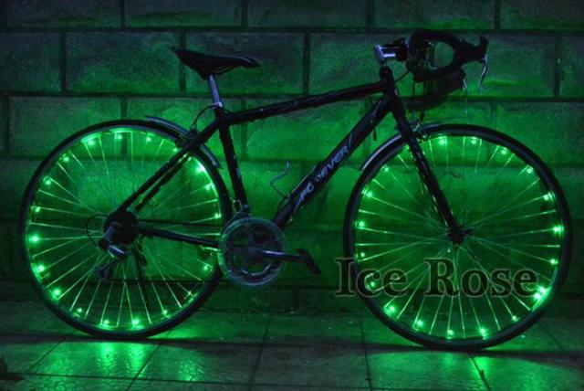 green bike light